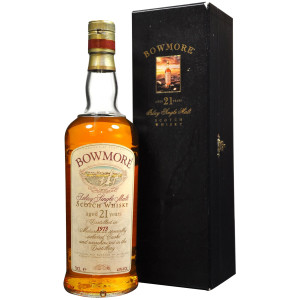 Bowmore 1973 21 years old