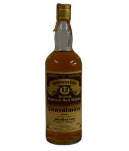 Convalmore 12 Year Old, 1969, Connoisseurs Choice