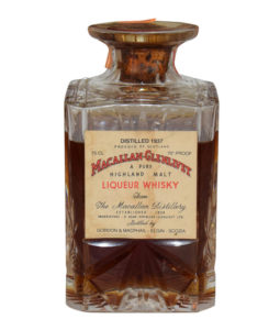 Gordon & MacPhail Macallan Glenlivet 1937, Crystal Decanter.