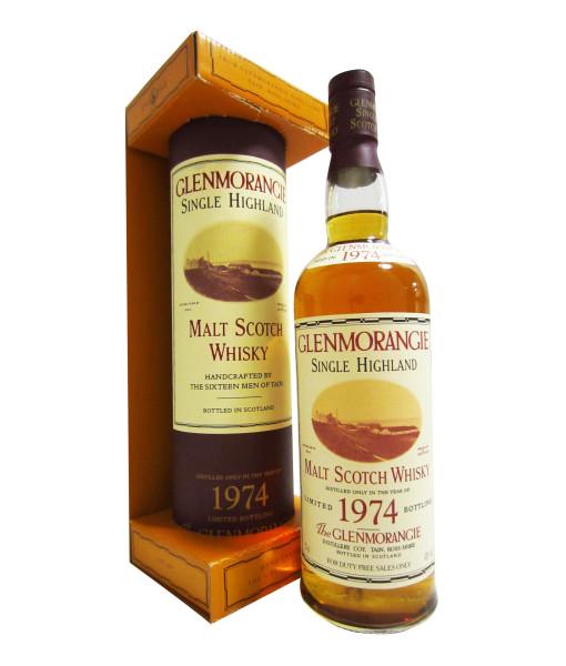Glenmorangie 21 Year Old, 1974 Official Bottle