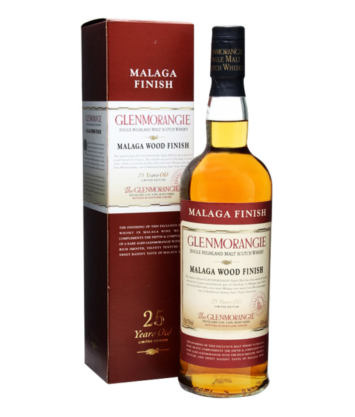 Glenmorangie 25 Year Old, Official Bottle