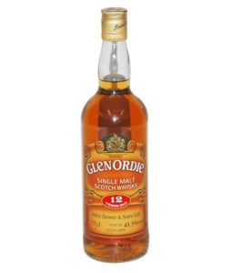 Glenordie 12 Year Old, Official Bottle