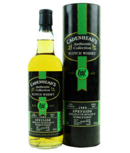 Braes of Glenlivet 12 Year Old, 1989 by Cadenhead's