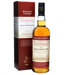Glenmorangie 25 Year Old, Malaga Wood Finish