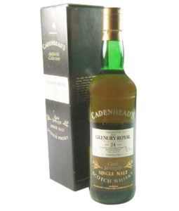 Glenury Royal 24 Year Old, Cadenhead's Authentic Collection