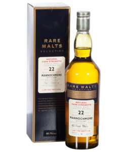Mannochmore 1974, 22 Year Old Official Bottling by Rare Malts