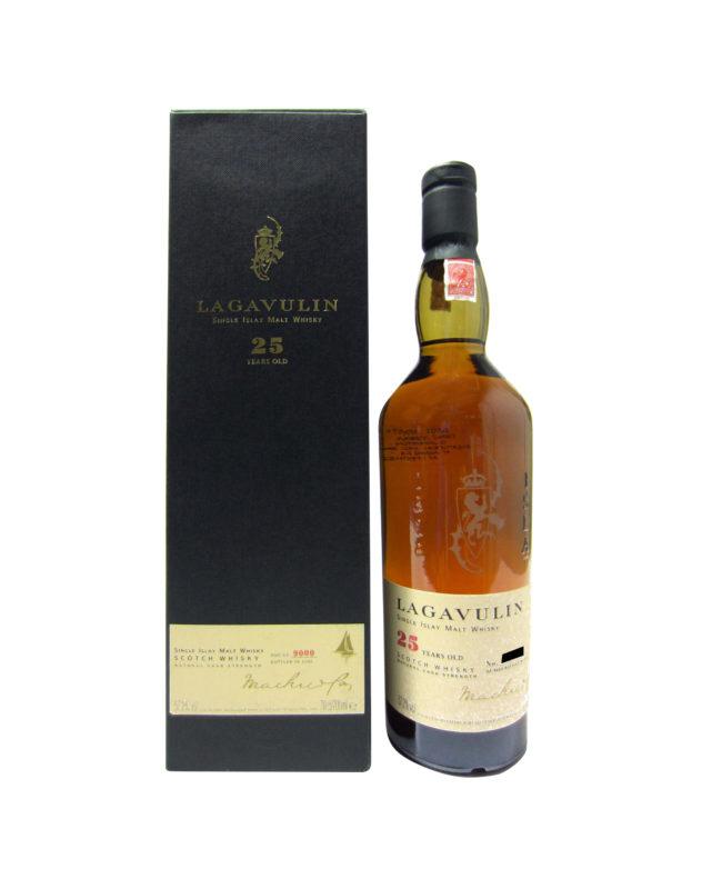 Lagavulin 25 Year Old, Bottled 2002