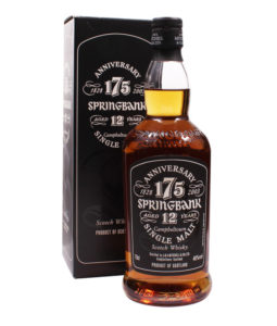 Springbank 12 Year Old, 175th Anniversary Bottle