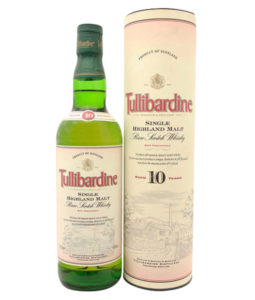 Tullibardine 10 Year Old, Official Bottle