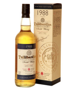 Tullibardine 1988, Official Bottle