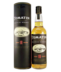 Tomatin 10 Year Old Official Bottling