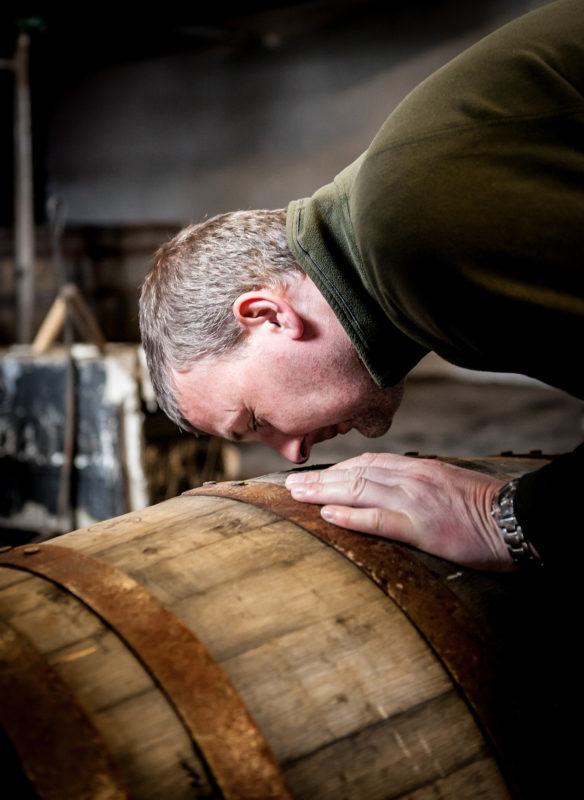 cask is whisky maturation