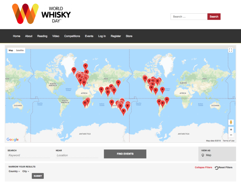 Celebrate World Whisky Day 2018