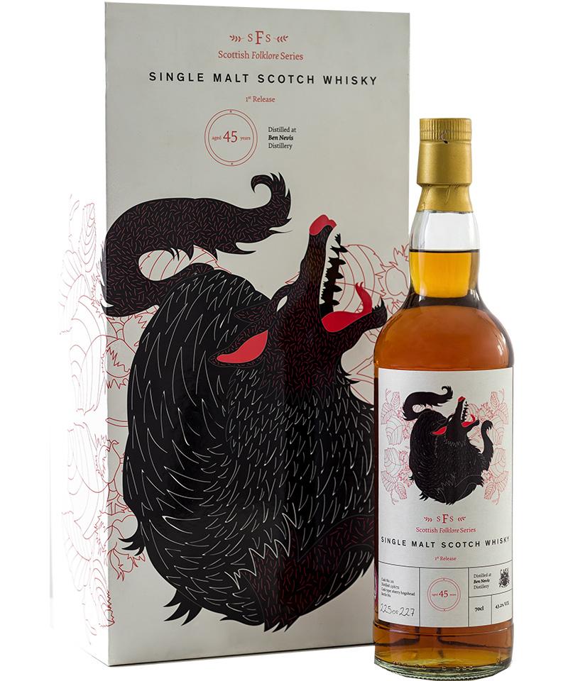 Ben Nevis 45 Year Old Single Malt Whisky from Cask 88