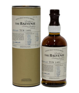 Balvenie Tun 1401, Batch Number 8 with Tube