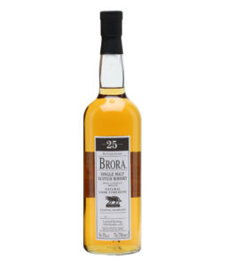 Brora 25 Year Old 7th Release bottled 2008