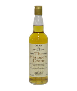 Oban 19 Year Old 'The Manager's Dram'