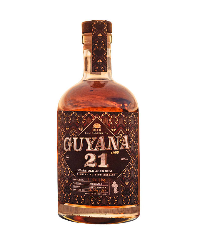 Guyana 21 Year Old Rum