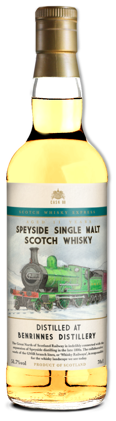 Scotch Express 3 - bottle mock up